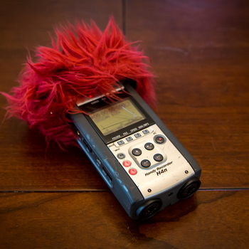 Rent Used Zoom H4N audio recorder - still functions as intended but worn