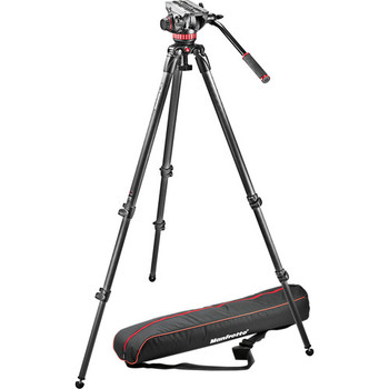 Rent Manfrotto 535 Carbon Fiber Tripod with 502 Head