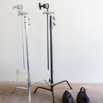 Rent 2x Kupo C Stand - Grip Head + (2) 15lbs sand bags