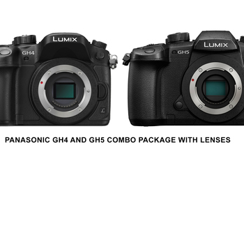 Rent Panasonic GH5 and GH4 VLOG Combo Package w Lenses