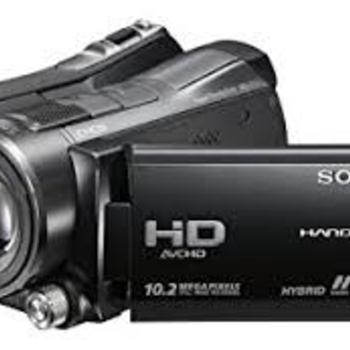 Rent Sony SR -12 HandyCam 120gb