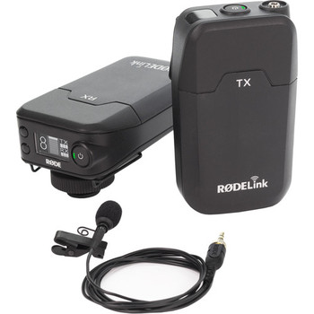 Rent Wireless mic that comes with a transmitter, receiver, lapel mic and clip, short stereo cable and small windscreen for outdoor usage.