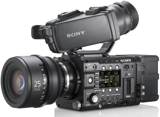 Sony f5 f55 side angle e1351587138578