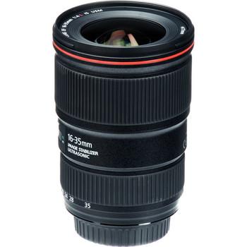 Rent Canon EF 16-35mm f/4L IS USM Lens