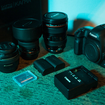 Rent 5D Mark III Camera Body and Lens Kit