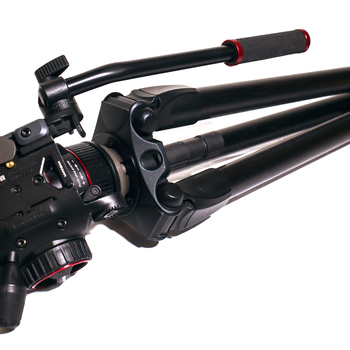 Rent Manfrotto 536 & Nitrotech N8 Fluid Video Head