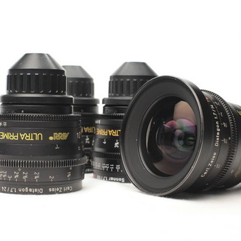 Rent ARRI/Zeiss Ultra Prime 6 lens set