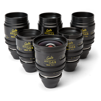 Rent Cooke Mini S4/i Cine 6 Lens Set