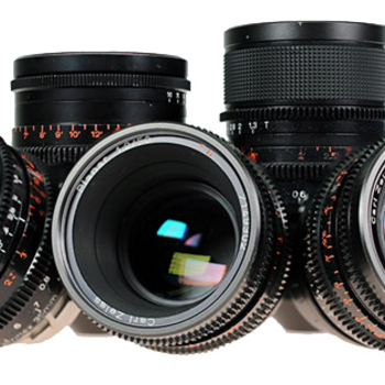 Rent Zeiss Super Speed Uncoated Lens Set