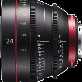 Rent  Canon  CN-E 24mm T1.5