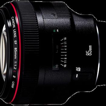 Rent Canon EF 85mm f/1.2 L II Prime