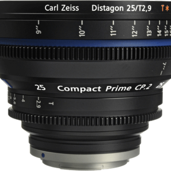 Rent Zeiss Compact Prime CP.2 25mm f2.9 EF/PL Lens