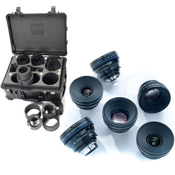 Rent Zeiss Compact Prime CP.2 Lens Set