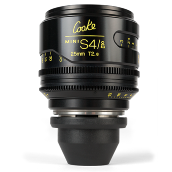 Rent Cooke 25mm T2.8 Mini S4/i Lens