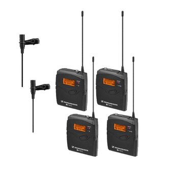 Rent Two Sennheiser Wireless LAVs