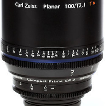 Rent Zeiss Compact Prime CP.2 100mm t2.1 EF/PL Lens