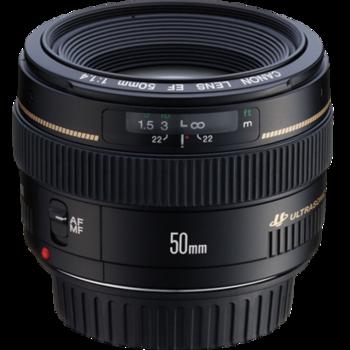 Rent Canon EF 50mm f/1.4 USM Lens