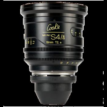 Rent Cooke 18mm T2.8 Mini S4/i Lens