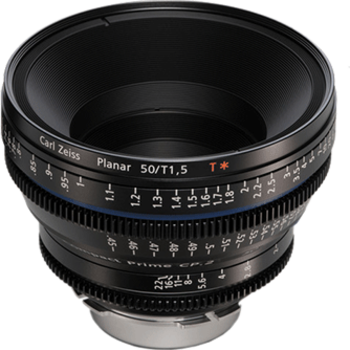 Rent Zeiss Compact Prime CP.2 50mm t2.1 EF/PL Lens