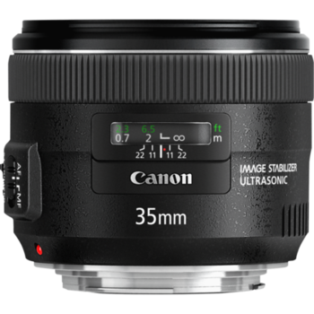 Rent Canon EF 35mm f/2.0 IS USM Lens