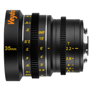 Rent Veydra Micro 4/3 Mini Prime 35mm f2.2 Lens