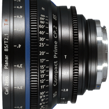 Rent Zeiss Compact Prime CP.2 85mm t2.1 EF/PL Lens