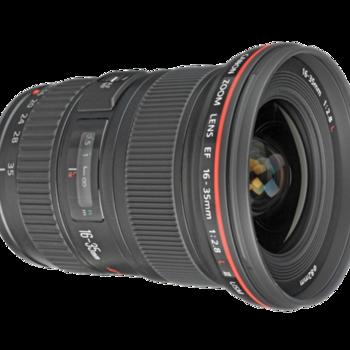 Rent Canon EF 16-35mm f/2.8L