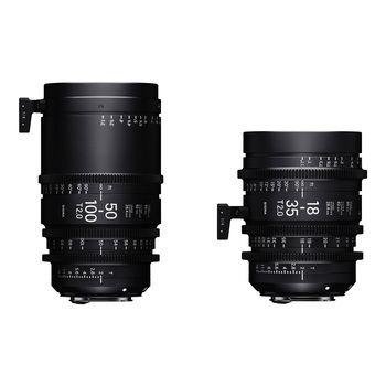 Rent Sigma Cine Zoom T2.0 18-35 and 50-100mm