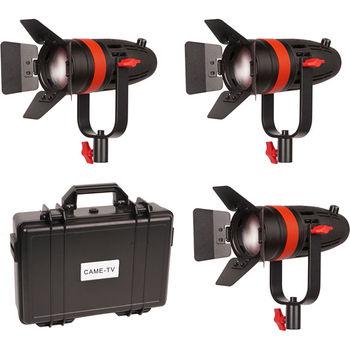Rent Boltzen 55W Focusable LED Fresnel 3-Light Kit