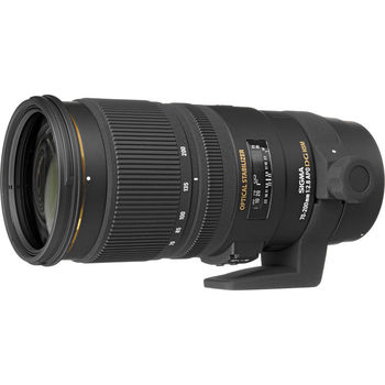 Rent Sigma 70-200mm f/2.8 EX DG APO OS HSM for Canon Lens