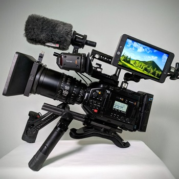 Rent Ursa Mini PRO 4.6K Mount PL or EF SHOULDER KIT
