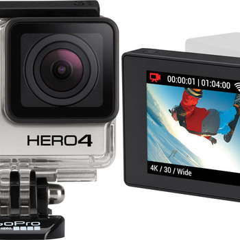 Rent GoPro Hero 4 Black + Monitor BacPac