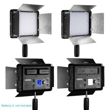 Rent 3x Neewer Remote Control 500 LED Dimmable Video Light with Diffuser for Canon Nikon