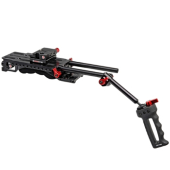 Rent Zacuto VCT baseplate/shoulder pad, rods, grips (x4 available)