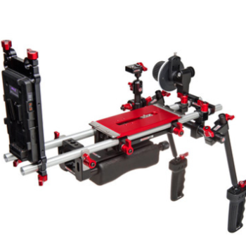 Rent Zacuto shoulder rig with matte box and follow focus