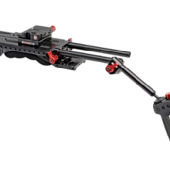 Rent Zacuto handheld rig with AB plate, VCT shoulder mount, grips