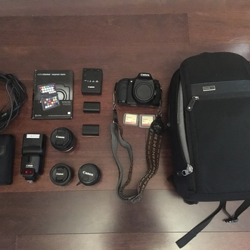 Rent Canon 7D Professional Kit With Lenses