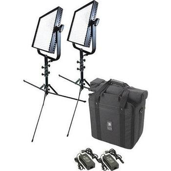 Rent Set of (2) 1x1 litepanels kit w/stands and batteries