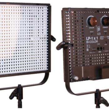 Rent (x2) 1x1 Litepanels bi-color kits with batteries, gels