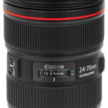 Rent Canon 24 70 USM II F2.8