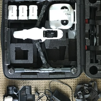 Rent DJI Inspire 1 w/ X3 camera and 3 batteries