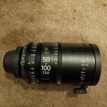 Rent Sigma Cine 50-100mm T2 PL mount lens