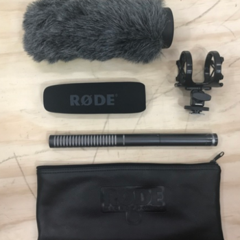Rent Rode NTG2 Shotgun Microphone w/ Extras