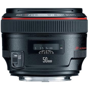 Rent Canon CA5012LEF EF 50mm f/1 .2L USM Lens