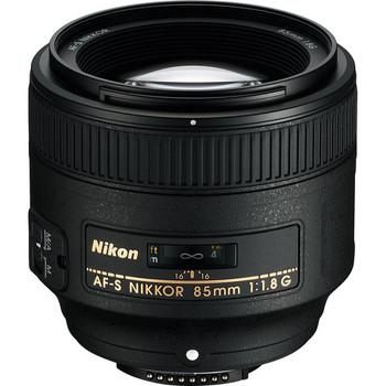 Rent Nikon 85mm f/1.8G Lens