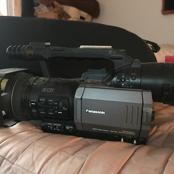 Rent Panasonic DVX100A camera with wide & telephoto lens adapters