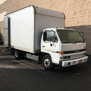 Rent 2-Ton Grip Truck