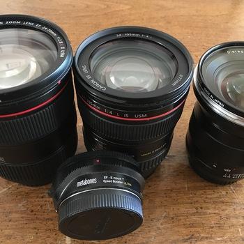 Rent Sony FS5 Doc Kit (Metabones adapter + Lenses + Mic)