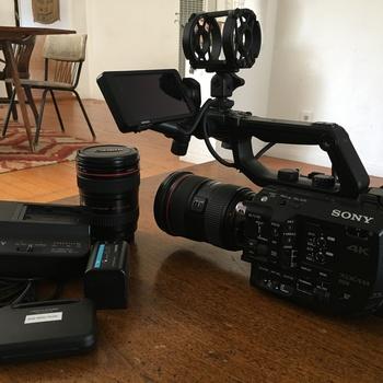 Rent Sony FS5 w/ Metabones adapter + Lenses