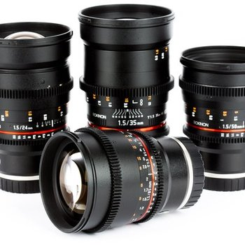 Rent Rokinon Cine Prime Lens Set for Sony